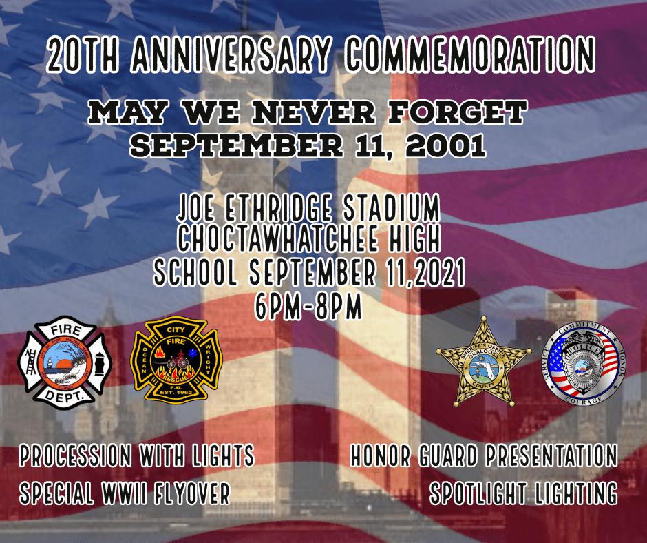 9-11 Event Announcement