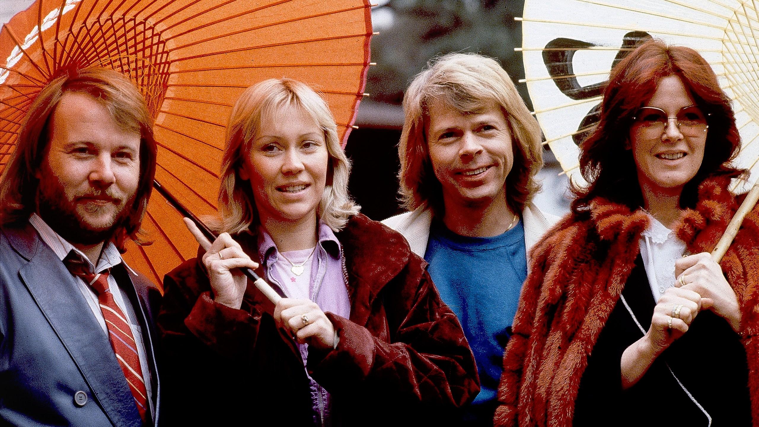 Benny Andersson, Agnetha Foltskog, Bjorn Ulvaeus, Anni-Frid Lyngstad