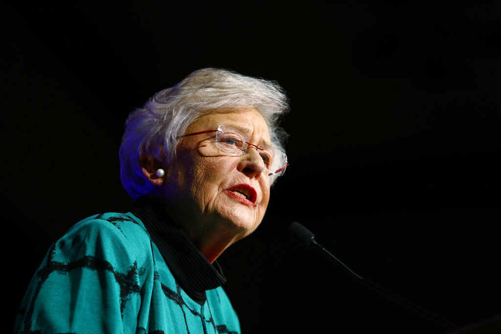 'Then honey, they haven't met me': Kay Ivey says she 'fought back and won' against Facebook 'ban'