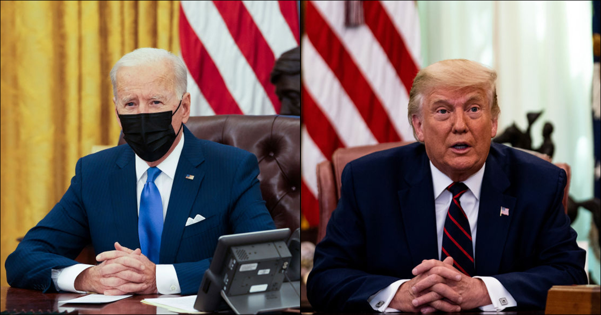 Biden, Trump make TIME's list of most influential people of the year