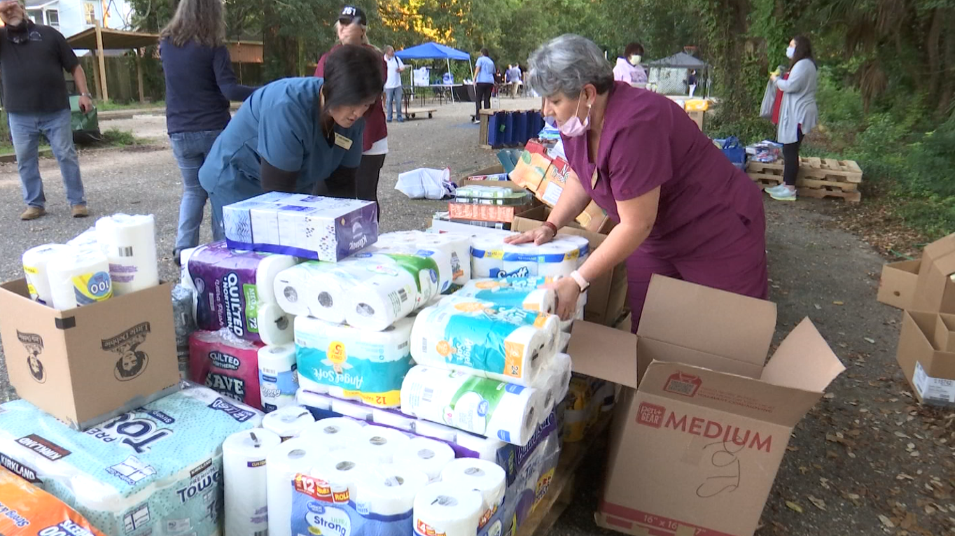 Hurricane Ida evacuees get help in Mobile at resource fair nearly one month after storm