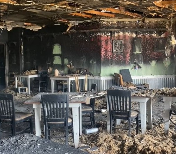 First look inside Ed's Seafood Shed following devastating fire