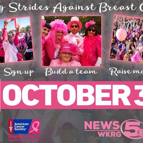 Making Strides Against Breast Cancer Mobile