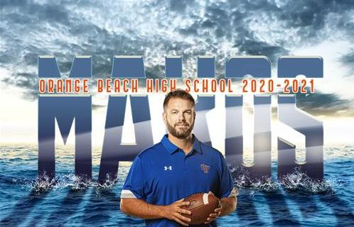 Orange Beach Head Football coach Chase Smith