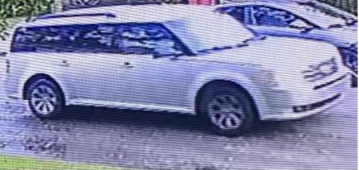 Silver Ford Flex sought by Prichard Police in connection with a Labor Day shooting