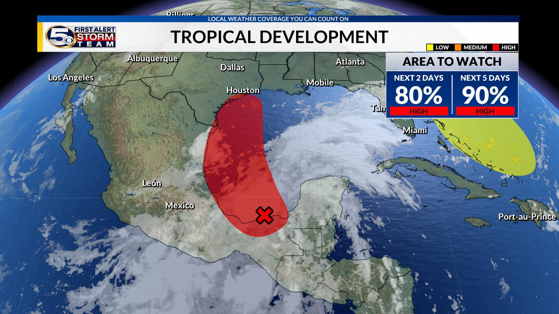 Peak of the Atlantic Hurricane Season, Watching two potential storms