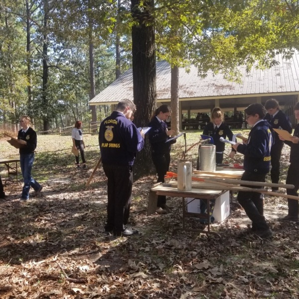 Florida Forest Service hosts FFA forestry competition