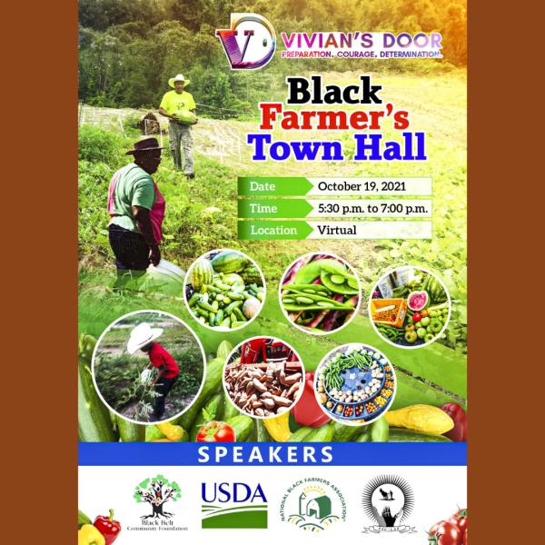 Vivian's door to host Black Farmer Town Hall event in Mobile