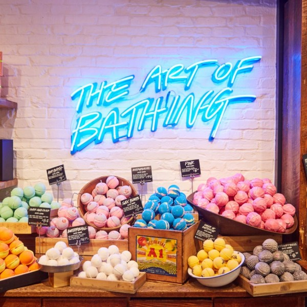Lush cosmetics pop-up now open in Escambia County