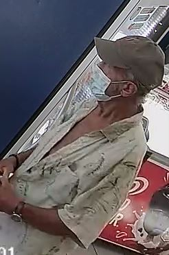 Biloxi Police search for shoplifting suspect