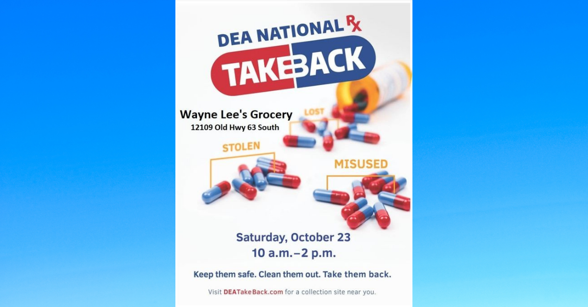 George County Sheriff's takeback on old medication