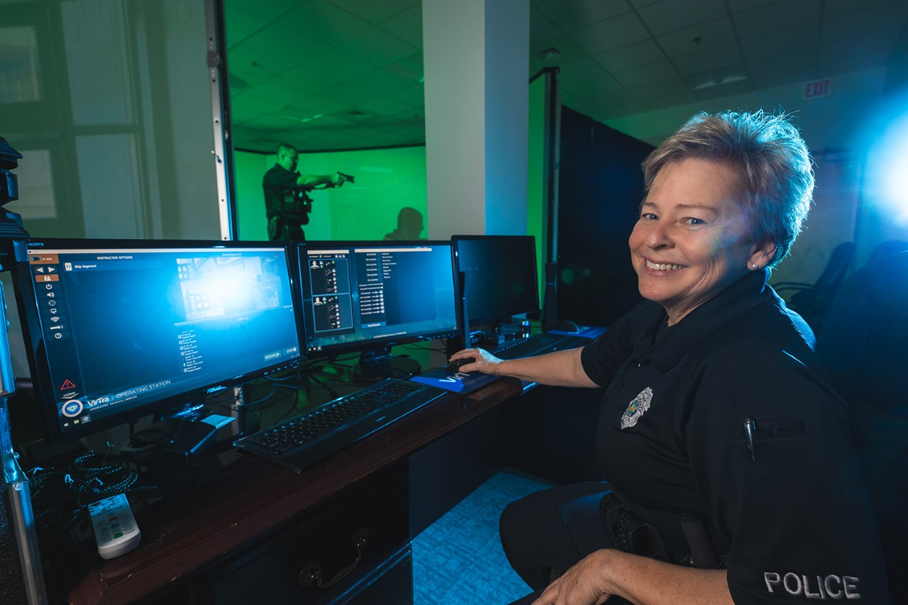 New training simulator for Pensacola Police and Escambia County Sheriffs