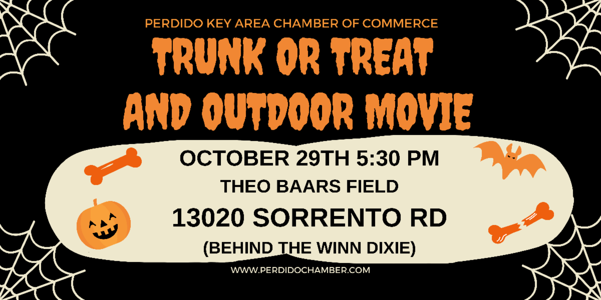 Perdido Key will hold free outdoor movie and trunk or treat event